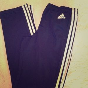 "Adidas Black Small inseam 31"" legs 8"" wide"